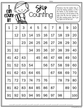 Skip Counting With Numbers 2 12 Plus Odds Evens Number