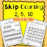 Skip Counting { 2, 5, 10 } 2s, 5s, and 10s for Grade 2!