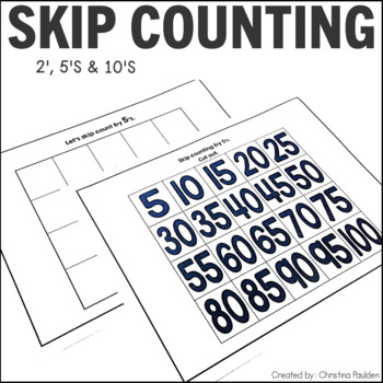 Skip Counting - 2's, 5's, and 10's