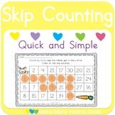 Skip Counting Dot a Path: Pets