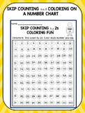 Skip Counting Worksheets Coloring Fun