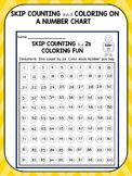 Skip Counting Worksheets Coloring Fun