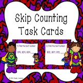 Skip Counting Task Cards Skip Count by 5s 10s 100s Skip Count Activity 2.NBT.2