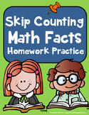 Skip Counting Facts - Skip Counting Fact Practice perfect for Homework Review