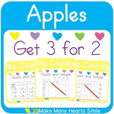 Skip Counting: Apples Worksheets