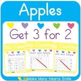 Skip Counting: Apples Worksheets MMHS2