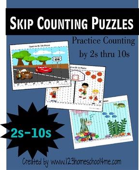 Skip Counting 2s-10s BUNDLE!