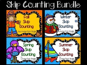 Skip Counting--2's, 5's, & 10's  BUNDLE