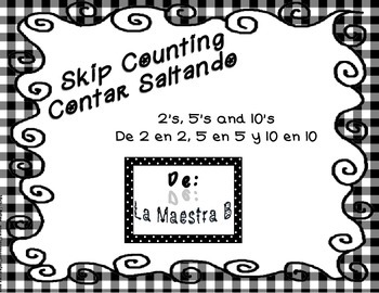Skip Counting 2's, 5's & 10's/Contar Saltando