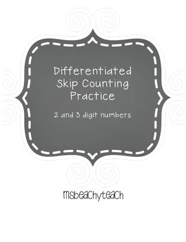 Skip Counting: 2 and 3-digit numbers
