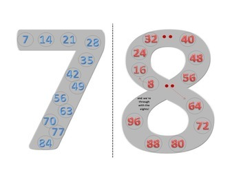 Skip Counting 7s & 8s