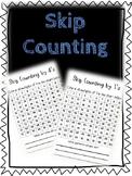 Skip Counting Activity