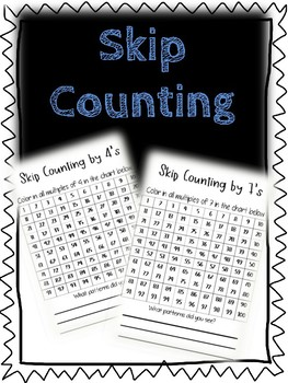 Skip Counting Activity