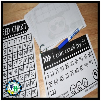 Skip Counting Activity Books {Count by 2s, 5s, 10s}