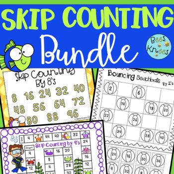 Skip Counting Activity Bundle