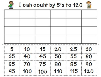 Skip Counting Activity Pack