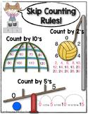 Skip Counting {Anchor Chart}