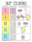 Skip Counting Anchor Chart