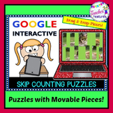 Google Classroom Activities SKIP COUNTING by 2s, 5s & 10s