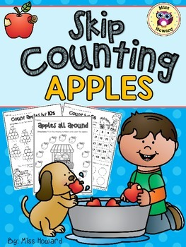 Skip Counting Apples FREE