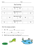 Skip Counting Assessment