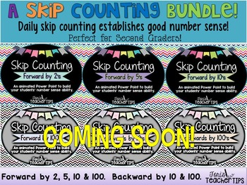 Skip Counting BUNDLE~ Animated Power Point