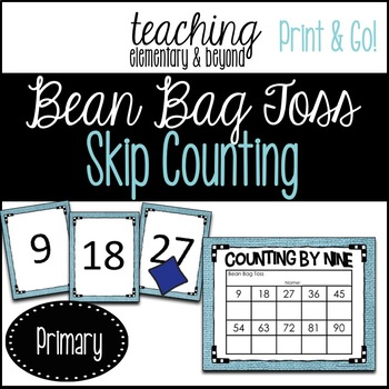 Skip Counting: Bean Bag Toss