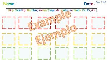 Skip Counting-Bilingual Math Games