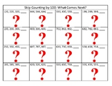 Skip Counting Bingo - ones, tens, hundred, thousands