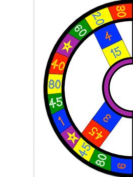 Skip Counting Board Game