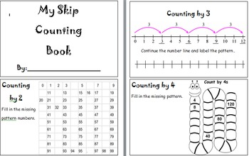 Skip Counting Book