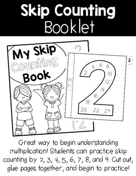 Skip Counting Booklet