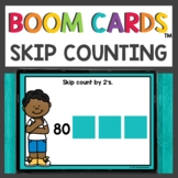 Skip Counting Boom Cards™ Digital Activities for Hybrid Learning