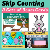 Skip Counting Boom Cards (Skip Count by 2, 5, 10 and 100)