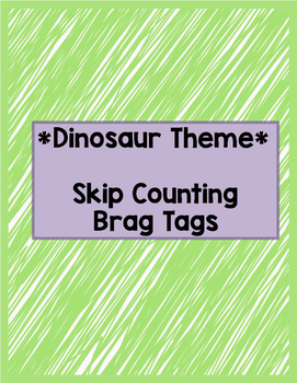 Skip Counting Brag Tags