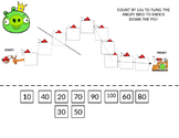 Skip Counting By 10s with Angry Birds