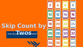Skip Counting By 2's