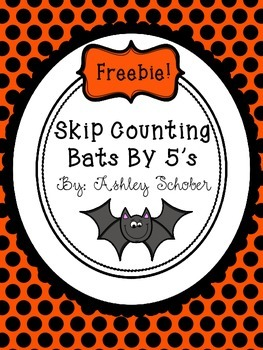 Skip Counting By 5's Bats 5-120 Freebie!