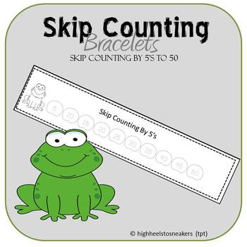 Skip Counting By 5's to 50 Freebie