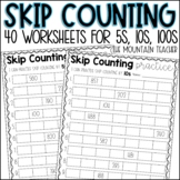 Skip Counting By 5s, 10s and 100s