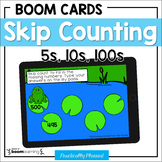 Skip Counting By 5s, 10s, and 100s Boom Cards Distance Learning