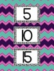 Skip Counting By 5's and 10's Posters-Bright, Colorful Che