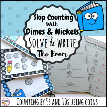 Skip Counting By 5 and 20 Write the Room Math