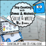 Skip Counting By 5 and 10 Write the Room Math