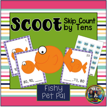 Skip Counting By Tens Scoot Game