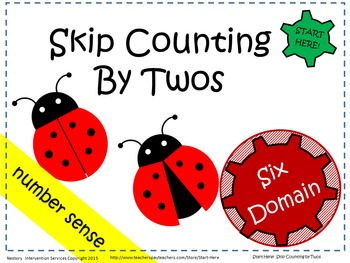 Skip Counting By Twos - Multi-Sensory Activities