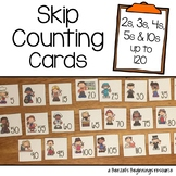 Skip Counting Cards {2s, 3s, 4s, 5s &10s}