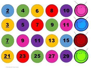 Skip Counting Caterpillars ~ Counting by 2's, 3's, 5's, 10's