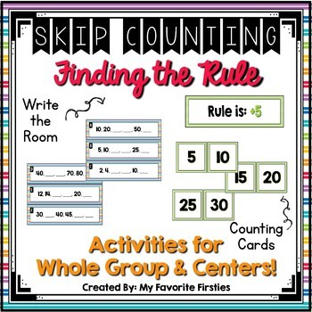 Skip Counting Center - Find the Rule
