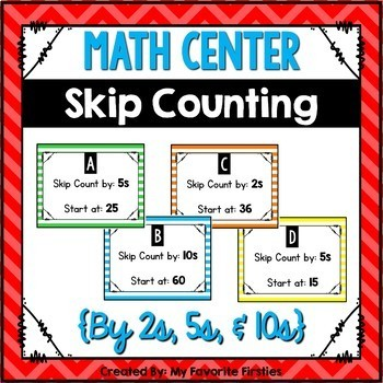 Skip Counting Center - Follow the Rule